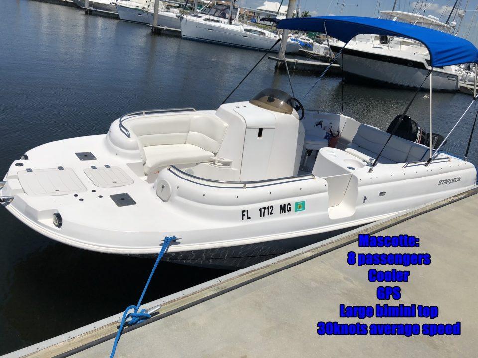 Mascotte deckboat www.littleharborwatersports.net